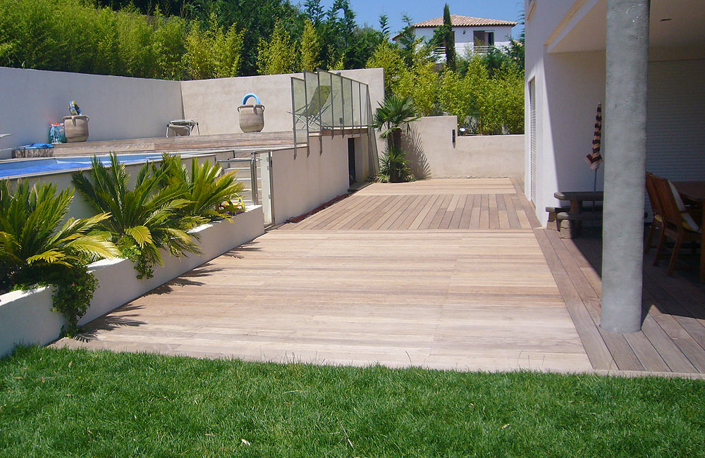 Jardinier paysagiste fabrice jardin ollioules cr ation for Amenagement terrasse et jardin photo